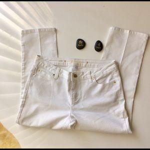 Jennifer Lopez Ari White Jeans Size 10